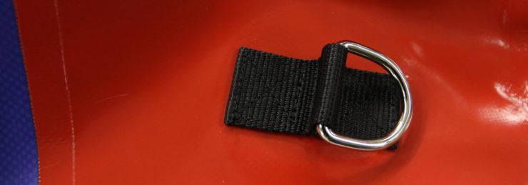 Изменение технологии крепления фурнитуры герметичных рюкзаков